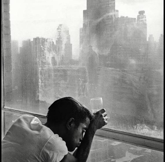 Sammy Davis Jr by Burt Glinn
