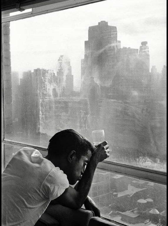 Sammy Davis Jr by Burt Glinn
