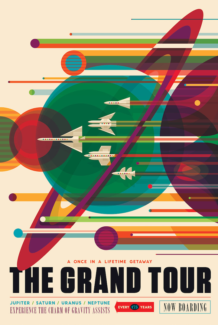Space Travel Posters at silviutolu.com