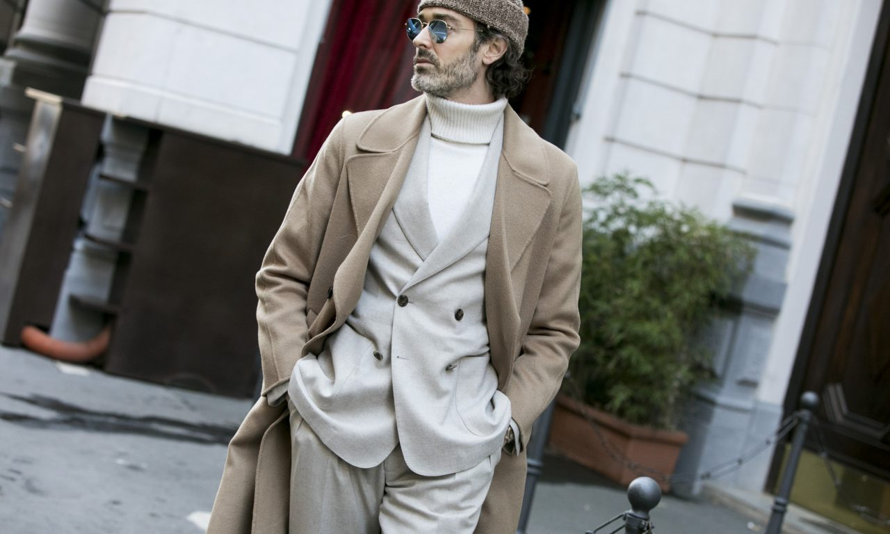 Richard Biedul by Valentina Frugiuele for GQ Italia Street Style
