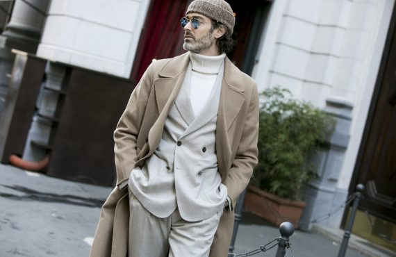 Richard Biedul by Valentina Frugiuele for GQ Italia Street Style