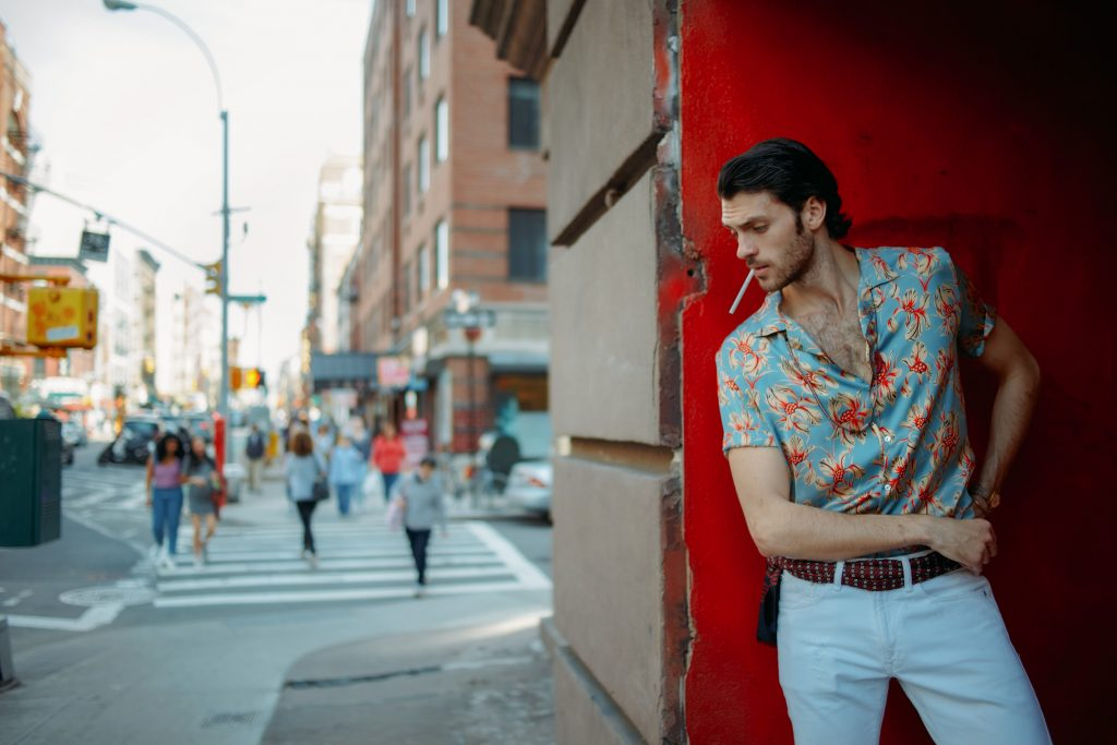 Silviu Tolu in The Little Italy Affair by Adrian Nina