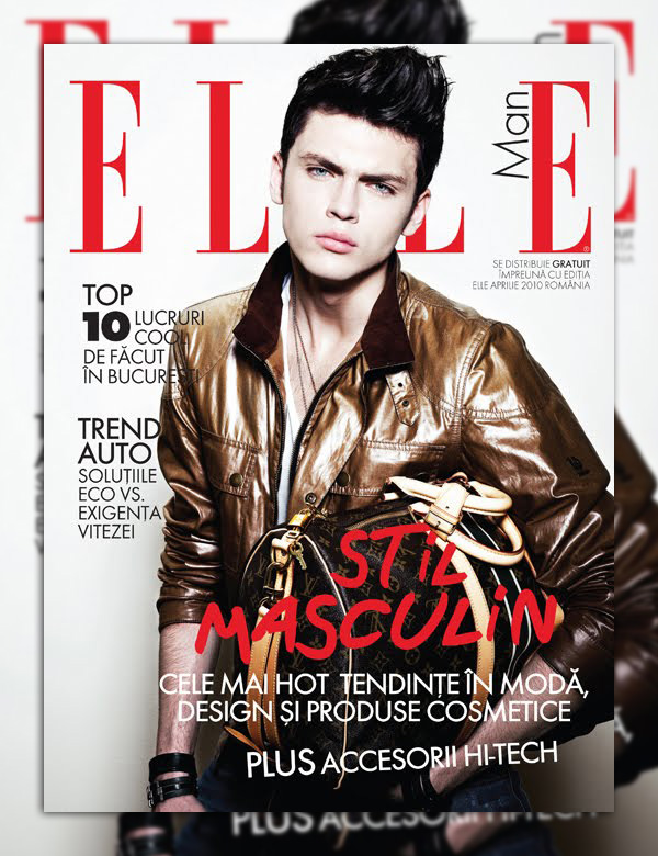 Silviu Tolu by Tibi Clenci for Elle Man Romania