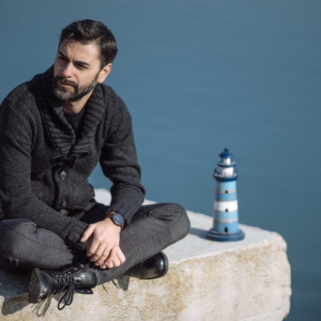 Marius Chivu by Adi Bulboacă