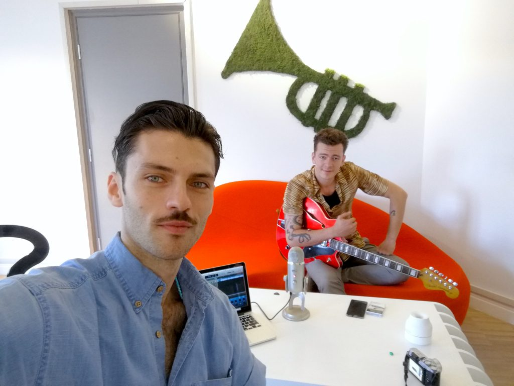Silviu Tolu si Jean Gavril la Silviu Tolu Podcast Show
