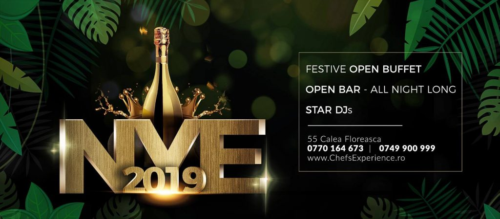 NYE at Chefs Experience