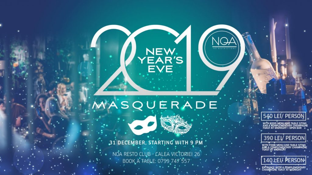 NYE at NOA Restoclub