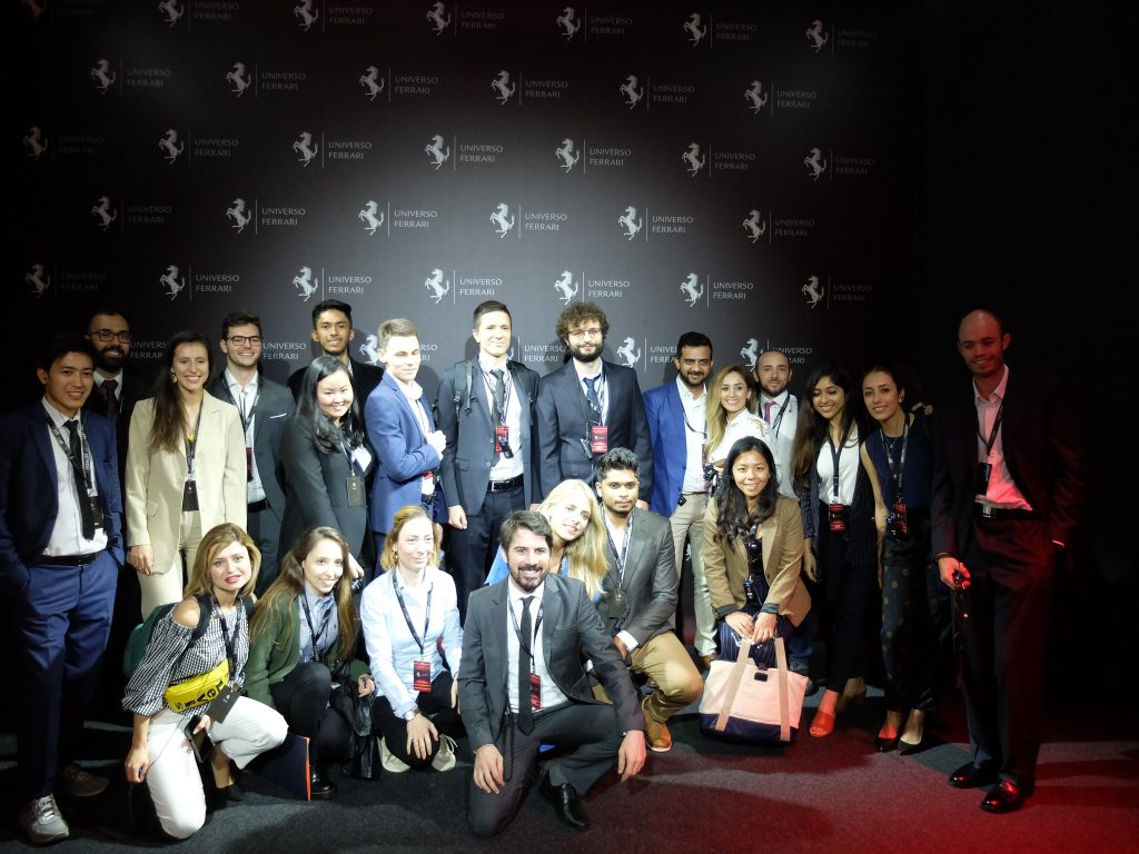 Universo Ferrari - visit with the Global MBA team