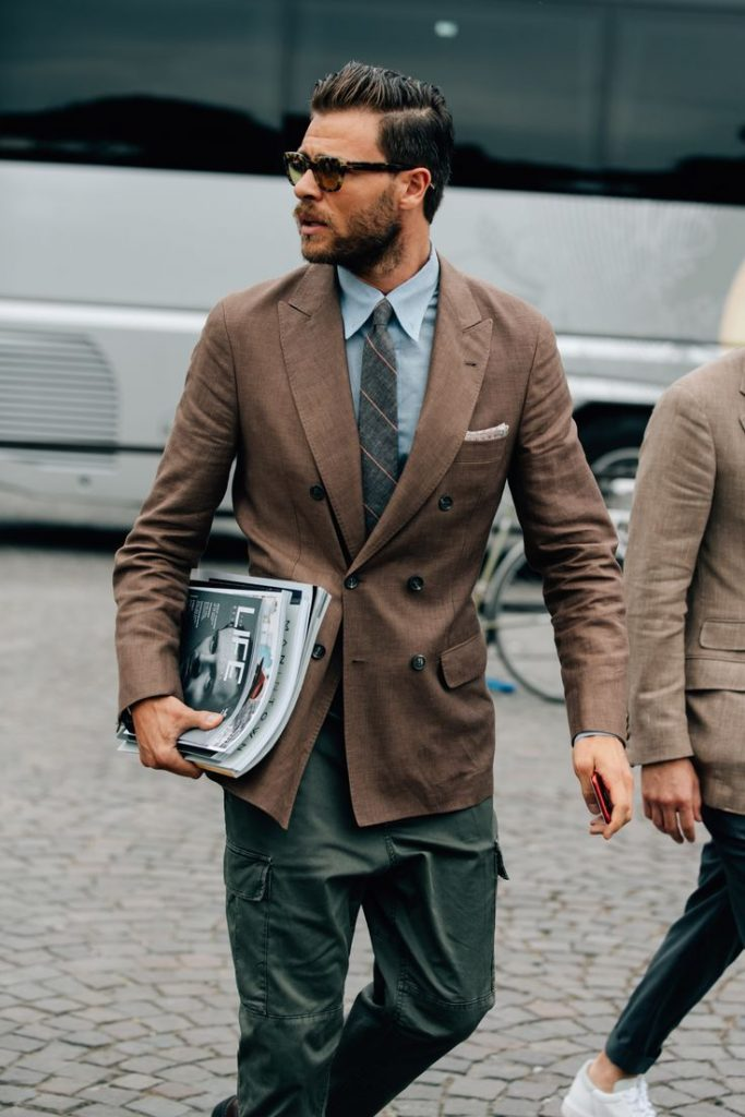 Alessio Piastrelli outfit of the day