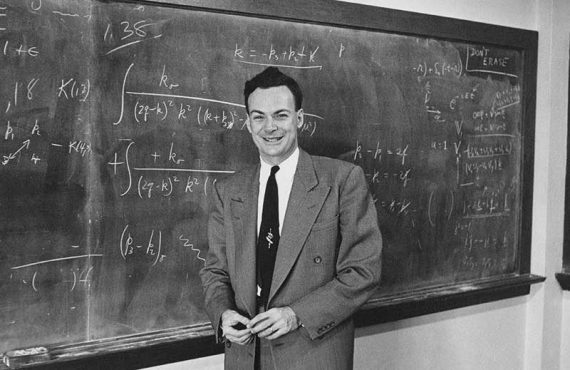 Richard Feynman – today's icon (1/1/2020)