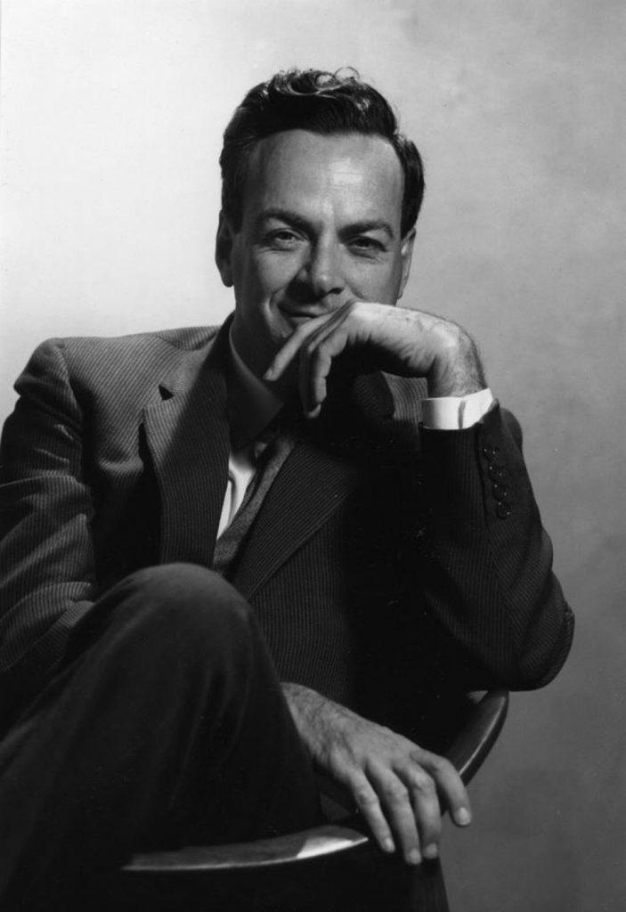 Richard Feynman 2020s Icon by Silviu Tolu www.silviutolu.com
