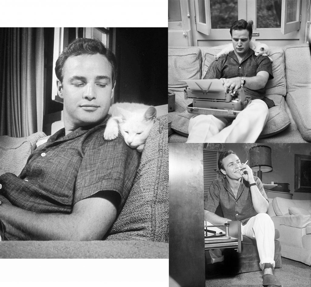 Marlon Brando Guide To what to wear at Home by Silviu Tolu for MOTA /silviutolu.com