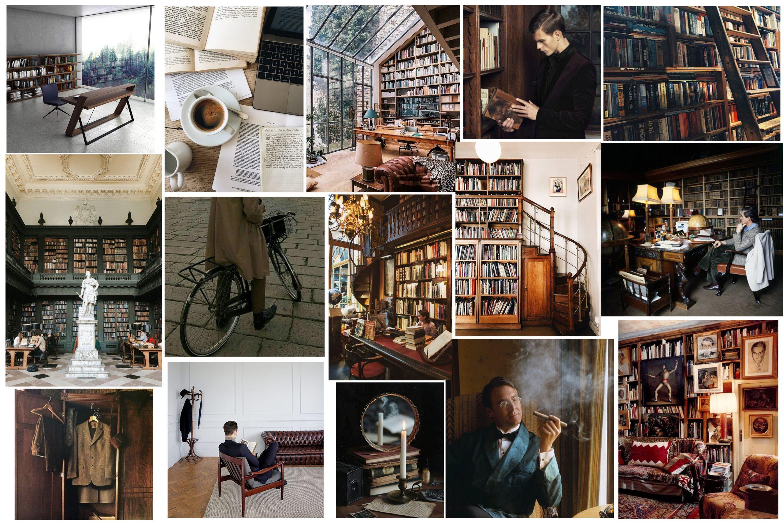 Bibliophilia / Monday's Moodboard by Silviu Tolu / silviutolu.com