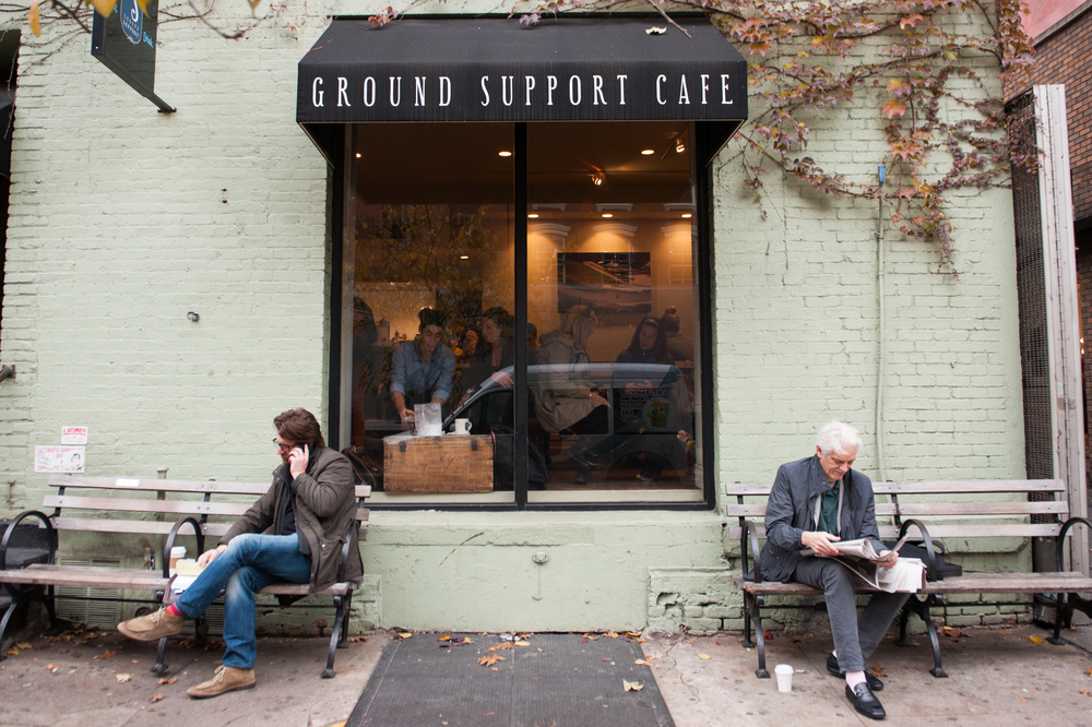 Ground Support Coffee Shop New York