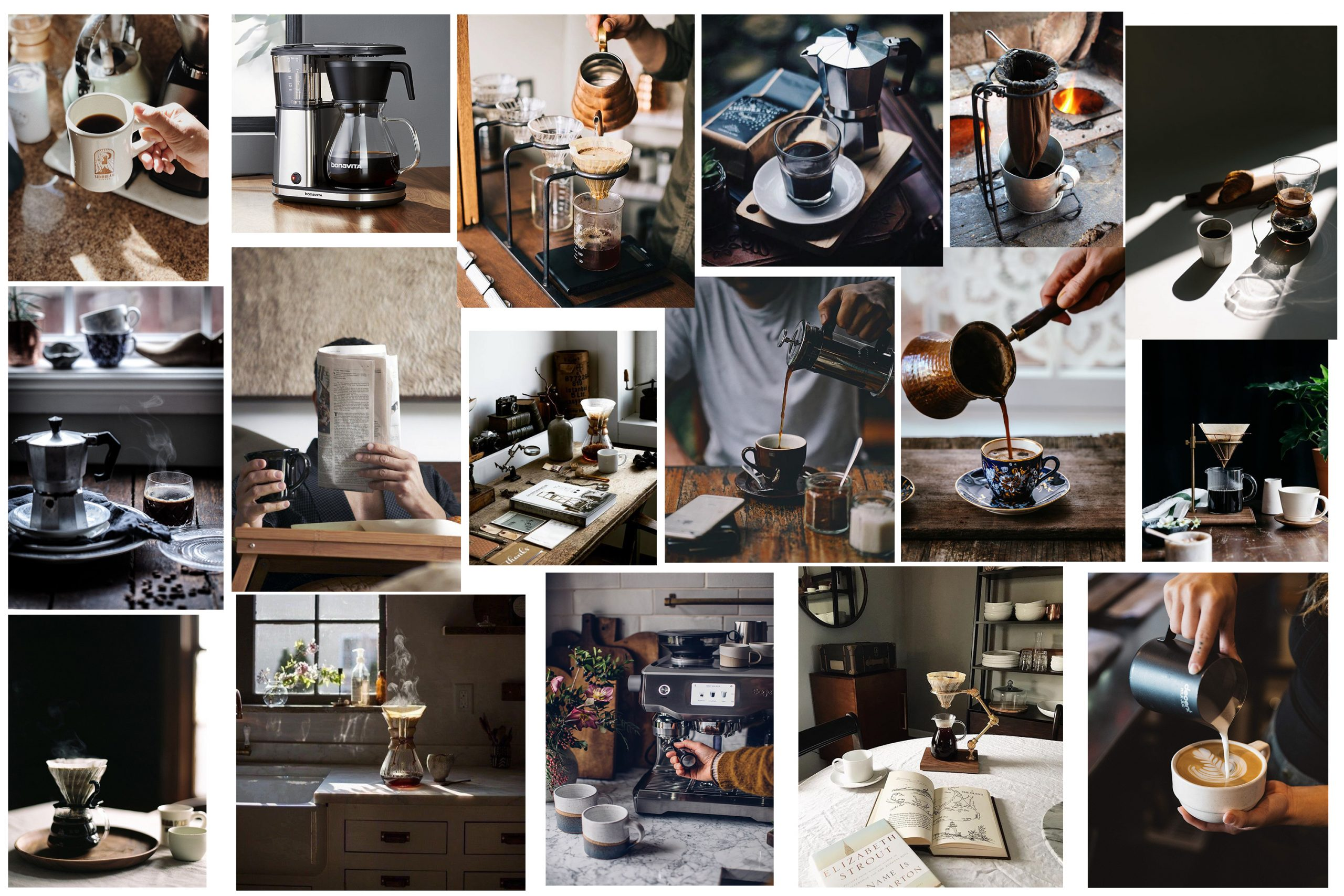 Cafea - How it's made / By Silviu Tolu / Monday's Moodboard